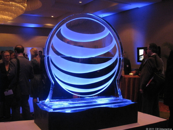 AT&T Ice Sculpture